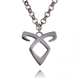 Wholesale Wholesale Hunters - The Mortal Instruments: City of Bones Angelic power Chain Artifact Rune shadow hunters Pendants Necklace ZJ-0903767