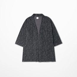 Wholesale Men Judo - Fall-Vintage Japan Judo Jacket Coat Half Sleeve Streetwear Hip Hop Fashion Men Clothing