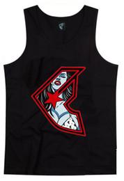 Hot Famous Men Tank Tops Moda Camisas sin mangas Cuello redondo Vintage Hombre suelta Camisas deportivas / Chalecos / Singletes Nueva llegada envío gratis desde fabricantes