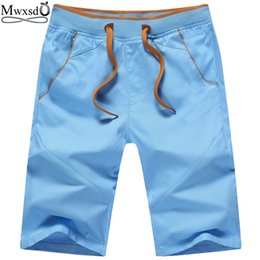 Wholesale Mens Casual Khaki Pants - Wholesale-2016 brand Mens Casual Cotton Shorts sports gym basketball men short pants homme board running shorts plus big size M-5xl