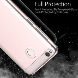 Wholesale Xiaomi Red Rice Cases - For xiaomi 5S phone shell red rice note 4X transparent silicone protective kit millet three suit smartphone