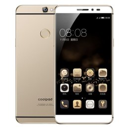 "Wholesale Coolpad Cell Phones - Original Coolpad Max A8-930 4G LTE Mobile Phone Snapdragon 615 Octa Core 3GB RAM 32GB ROM 5.5"" IPS 2.5D Screen 13.0MP Fingerprint Cell Phone"