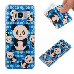 Wholesale Galaxy Lite - For iPhone 8 7 6 6s plus 5 5s SE Cute TPU Soft Phone Case for samsung galaxy s8 Plus s7 edge Huawei P10 lite Carton Back cover Shell OPP Bag