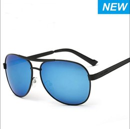 Wholesale Handsome Glasses - NEW Fashion glass len Double beam Band UV400 classic Sunglasses for women Hot Selling sunglasses beach fishing Handsome man HD