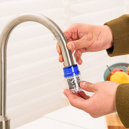 Wholesale Purified Filtered Water - Home Healthy Water Purified Faucet Tap Bamboo Charcoal Double Purifier Filter Head New #4185