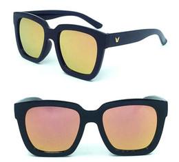 Wholesale Colorful Plastic Sunglasses - 2017 new large sunglasses and fashion sunglasses sunglasses 5111 colorful.