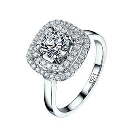Visisap белое золото цвет кольца цирконий ювелирные изделия роскошные обручальное свадьба для женщин bijoux аксессуары VSR111 от Поставщики вынос мотоцикла