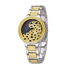 Wholesale Oro Jewelry - Marca de lujo BELBI Animal Moda Relojes de señorasImpermeable reloj de las mujeres Gold Relojes de cuarzo de oro reloj del negocio Regalo
