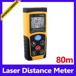 Wholesale Cheap Laser Distance Meter - 80M Hand-held Laser Distance Meter Cheap Prices rangefinder Measure Laser 12 pcs lot free shipping