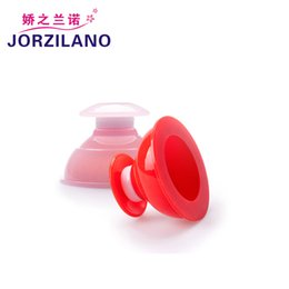 Wholesale Silicone Cupping Massage Cups - FREE SHIPPING 10pcs set Silicone Chinese Vacuum Massage Cupping Therapy Suction cup Anti-cellulite Set Kit M   L SIZE