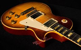 Wholesale Custom 1959 - 10S Custom Shop 1959 Led Zeppelin Jimmy Page #7 - Tom Murphy Aged and Signed Electric Guitar