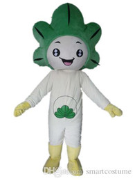Wholesale Plant S Light - SX0728 Light and easy to wear a plant mascot costume with white bodu for adult to wear