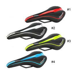 Wholesale Leather Racing Seat - Original WOSAWE Bicycle Mountain Road Racing MTB Bike Parts Cycle Racer Ride Cycling Saddle Comfortably Seat 4 Color Wholesale 2510005