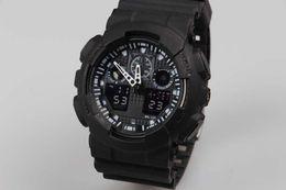 Wholesale Digital G Watch - Sport Watches Promotion Hardlex New Arrival Plastic Unisex Retail Fashion G Watch, ga100 Time Zone Watch Watches