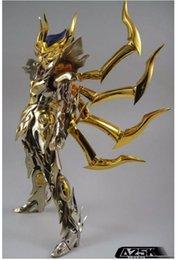 Wholesale Saint Seiya Metal - action figure Special offer improve version AE Athena Exclamation model SOG Cancer DeathMask action figure metal armor saint seiya toy