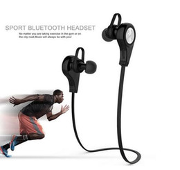 Wholesale Beat Phones - 2016 hot factory whollesale QY9 wireless bluetooth ear sport headset headphones bluedio beats for mobile phone