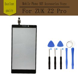 Wholesale Iphone Front Glass Tools - Wholesale- Black TP for Lenovo Vibe Z2 Pro K920 Touch Screen Digitizer No LCD Front Glass Panel Sensor Replace Part Free Shipping+Tool