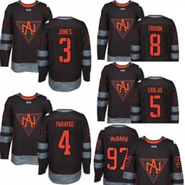 Wholesale Ice Hockey Games - Men's 97 Connor McDavid 3 Seth Jones 4 Colton Parayko 5 Aaron Ekblad 8 Trouba 2016 world cup of North America hockey olympics game jersey