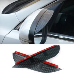 Canada Car Styling Carbone rétroviseur pluie sourcils Rainproof Flexible Lame Protecteur Accessoires Pour NISSAN TEANA 2009-2012 Offre