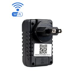 Wholesale Pc Control Dvr - Multi-Functional HD1080P WIFI Charger Camera 5.0 MP Audio Video Covert Recorder USB Socket AC Plug Adapter DVR for Phone PC remote control
