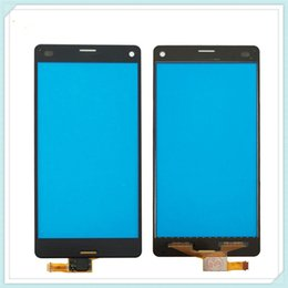 Wholesale Xperia Screen Replacement - Original Replacement Touchscreen Digitizer for Sony Xperia Z3 Compact Z3 Mini D5803 D5833 Touch Screen Panel Glass Lens Free Shipping