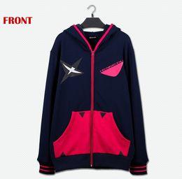 Wholesale Japanese Women Costumes - Japanese Cartoon Anime Cosplay Costume KILL la KILL Senketsu Cosplay Hoodie size M L XL Jacket