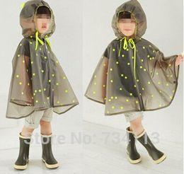 Wholesale Rain Ponchos For Kids - Waterproof Transparent Eva Kids Women Raincoat Winter Capa De Chuva For Boys Girls Rain Ponchos Cloak Tour Chubasquero