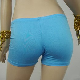 Wholesale Cotton Boxer Shorts Seamless - Wholesale-2016 New Lady Plain Underwears Boxers Women's Comfortable Seamless Safety Shorts