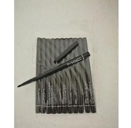 Wholesale Waterproof Black Eyeliner Pencils - m brand 24pcs lot Hot selling Waterproof automatic black brown eyeliner pencil
