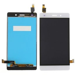 Wholesale Display Huawei - AAA Quality Black LCD Lens Touch Screen Display Digitizer Assembly Replacement for Huawei p8 lite Free Shipping