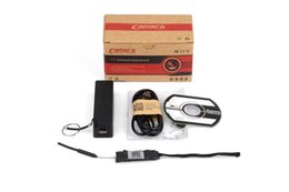 Wholesale Battery Powered Wireless Ip Camera - H.264 battery powered portable remote wireless hidden wifi ip camera spy module camera DIY camera