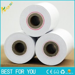 Wholesale Pos Thermal Print - New 100 rolls Cash register paper 57 * 40mm thermal paper POS machine printing paper 15 mters small ticketpaper roll paper