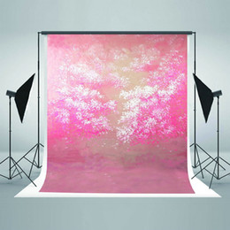 Wholesale Photography Background Wall Prop - Children Photography Backdrops Pink Wall Backdrop Cotton Seamless Newborn Photo Studio Props Background for Photographers J01791
