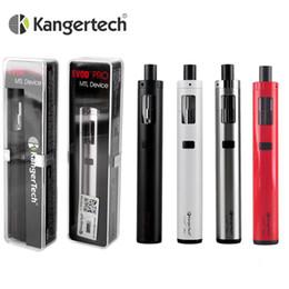 2019 evod vape pen Kanger EVOD PRO All-in-One-Starter Kit E-Zigarette Vape Lung Vaping Mund Top Fill Entwurf Kompatibel mit CLOCC Coil Atomizer Heads Pen DHL rabatt evod vape pen