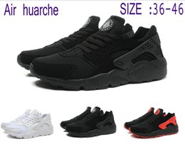 Wholesale Spring Shoes For Women - 2016 New Air Huarache 36-46 running shoes Huraches Running trainers for men & women outdoors shoes Huaraches sneakers free shipping epacket