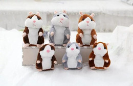 Wholesale Hamster Stuff Toy - 2017 hottest fire talking Hamster Talk Sound Record Repeat Stuffed Plush Animal Kids Child Toy