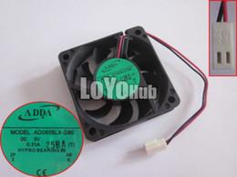 Adda 5v fans online-Envío gratis ADDA AD0605LX-D90 T DC 5V 0.21A 2 pines 60x60x15mm Servidor Ventilador de refrigeración HYPRO