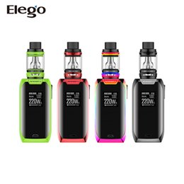 Wholesale Original Powers - New!! 100% Original Vaporesso Revenger X Kit 5ml 220W Powered by dual 18650 batteries with 0.96inch OLED screen