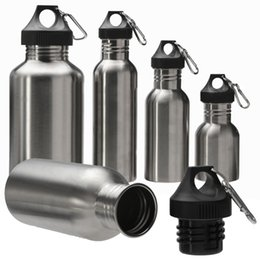 Wholesale Outdoor Testing - Stainless Steel Wide Mouth Drinking Water Bottle Outdoor Travel Sports Cycle Drink Bottles Kettle For Outdoor Tools