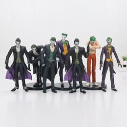 Wholesale crazy figures - the Dark Knight The Joker Crazy Toys Suicide Squad The Joker Super Hero PVC Action Figures Collectible Model Toys Gifts For Kids