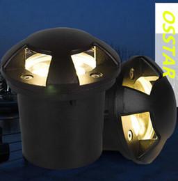 luz subterrânea 6w Desconto Alta potência LED 6W / 10W enterrado lâmpada impermeável ao ar livre iluminação LED subterrânea lâmpada AC85-265V
