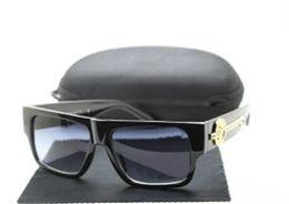 Wholesale Italy Man Glasses - 2018 Medusa new fashion UV400 100% Protection Italy Brand Designer 9109 Sunglasses Men Women Sun glasses