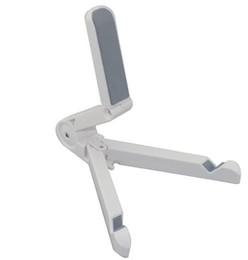 Support de support pliant portable pour iPad / iPad 2 / Nouveaux tablettes iPad / Samsung blanc / noir ? partir de fabricateur