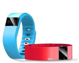 Wholesale Tw64 Bluetooth - fit bit fitbit TW64 Smartband Smart sport bracelet Wristband Fitness tracker Bluetooth 4.0 fitbit flex Watch for ios android xiaomi mi band