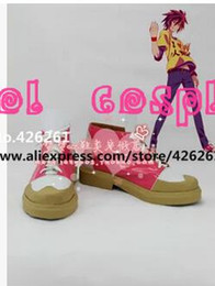 Wholesale Online Games Girls - Wholesale-New NO GAME NO LIFE cosplay costume Sword art online shoes japanese school girls boots
