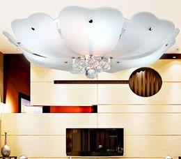 Wholesale Lotus Ceiling Lamp - Simple low-key luxury led crystal lamp. Lotus Restaurant Ceiling decorations