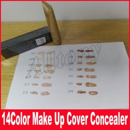 Wholesale Mixing Foundation Colors - 14color Base Make Up Cover Primer Concealer Professional Face Foundation Contour Palette 30g 14 Colors Free Shipping