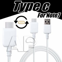 Wholesale Tablet Typing - USB Type C Cable USB C 3.1 cable Data Sync Charge Cable Tablet Note7 For Macbook OnePlus 2 ZUK Z1 TPE HQ