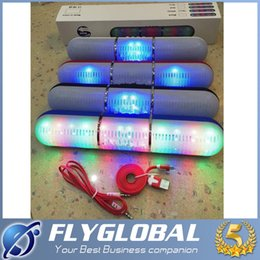 Wholesale Usb Sound Card Price - JHW-V318 Bluetooth speaker Pulse Pill LED Flash Lighting Portable Wireless Bluetooth Speaker Bulit-in Mic Handsfree factory price flyglobal