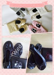 Wholesale Blue Staff - China factory production, first-class production lines, strict staff management.PU roll up shoe women foldable shoe